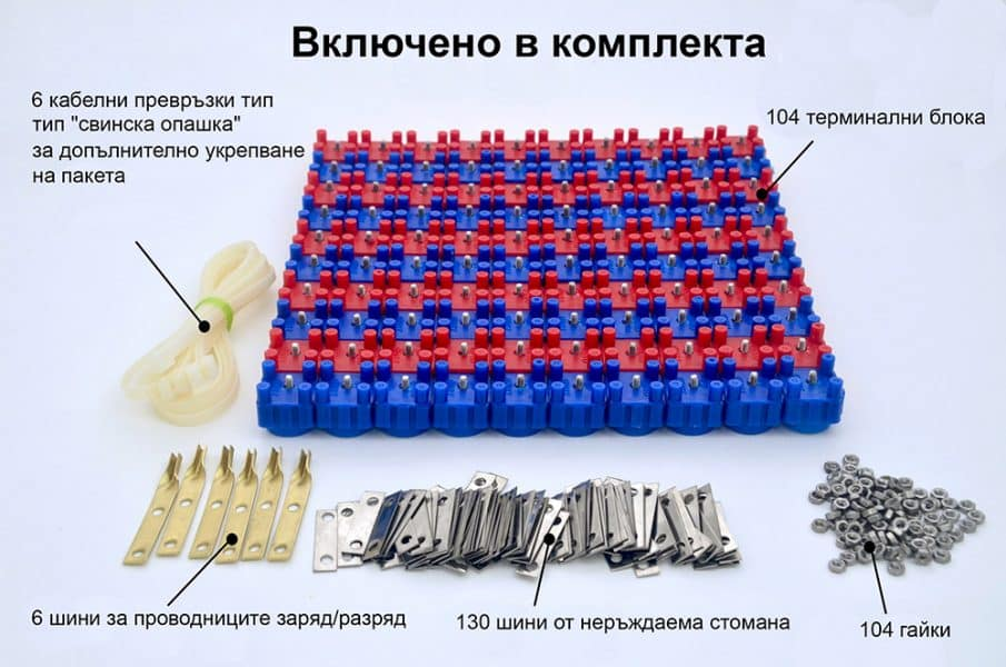 Vruzend battery kit DIY направи сам