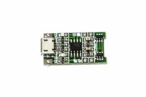 Зарядна платка 4736-03 с usb за li-ion батерии 4.2v, 1А