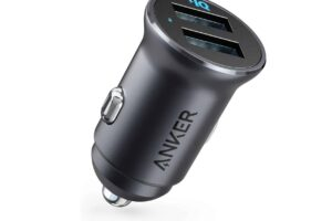 Anker powerdrive зарядно за кола 2 usb 4.8a