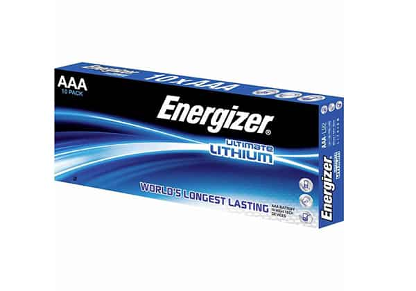 Energizer ultimate lithium aaa box