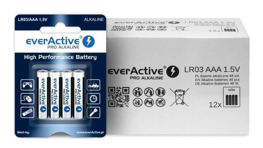 Everactive aaa алкална батерия