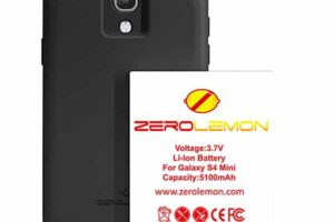 Комплект zerolemon за galaxy s4 mini