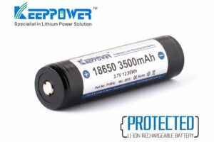 Keeppower 18650 3500mah protected 10a