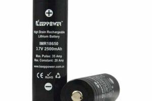 Keeppower imr18650-2500