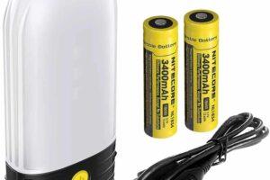 Къмпинг лампа nitecore lr50 power bank