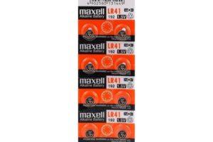 Батерия maxell lr41