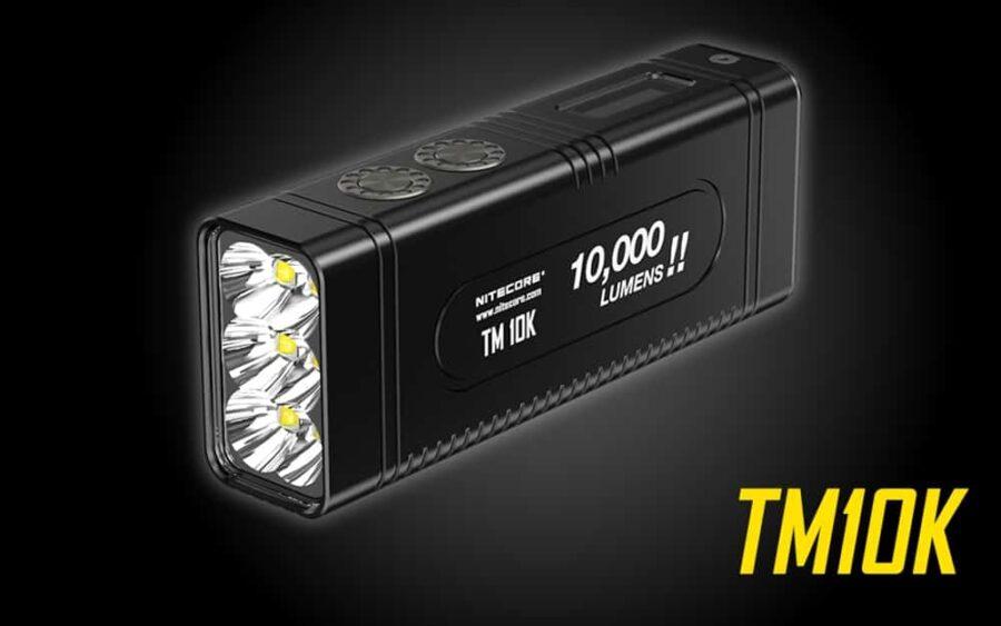 Фенер nitecore tm10k