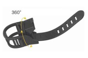 Nitecore bm02 крепеж за фенер към колело
