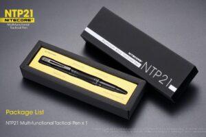 Nitecore ntp21 тактическа химикалка