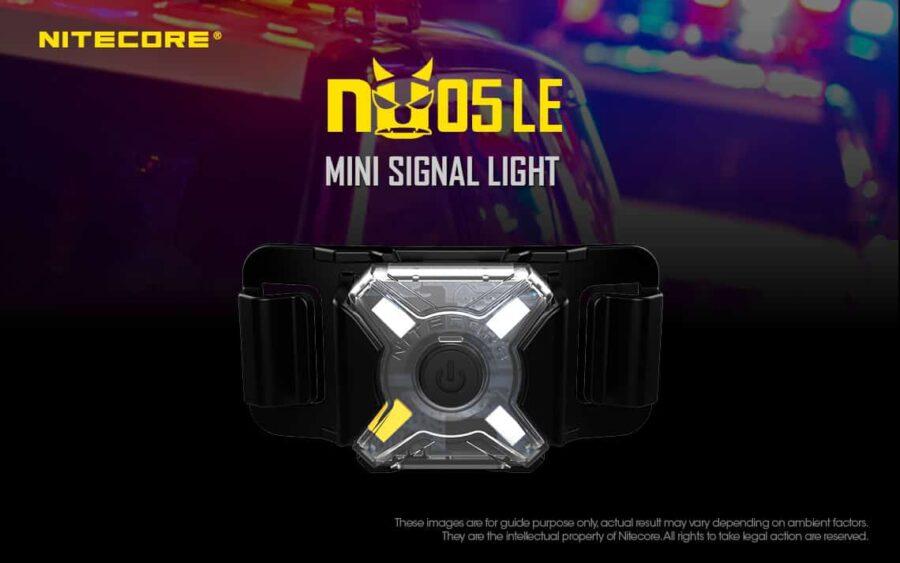 Сигнална светлина nitecore nu05 le