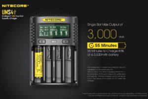 Nitecore ums4 зарядно устройство