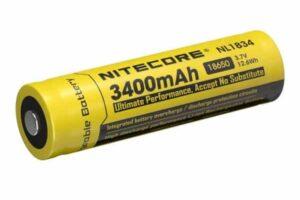 Батерия nitecore nl1834 protected