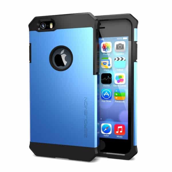 Калъф zerolemon за iphone 6 4.7 inch метално син