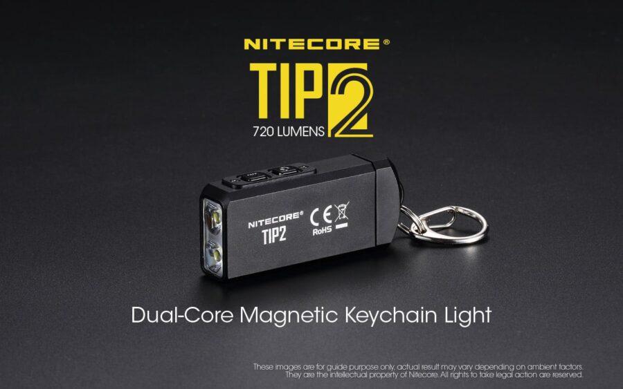 Фенер за ключодържател nitecore tip2