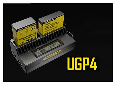 Зарядно за gopro4 gopro3-nitecore ugp4