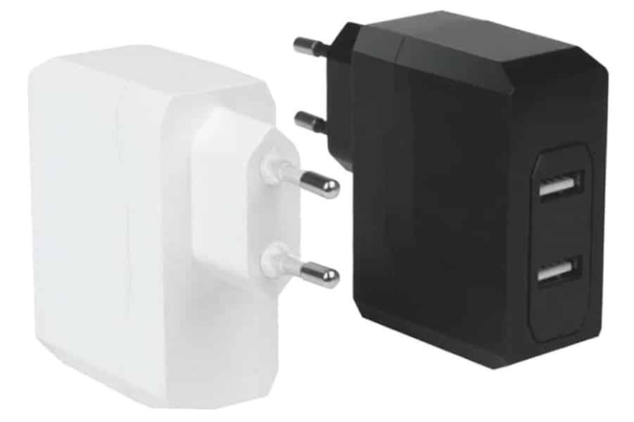 Usb зарядно устройство 5v 2.4a – 2usb