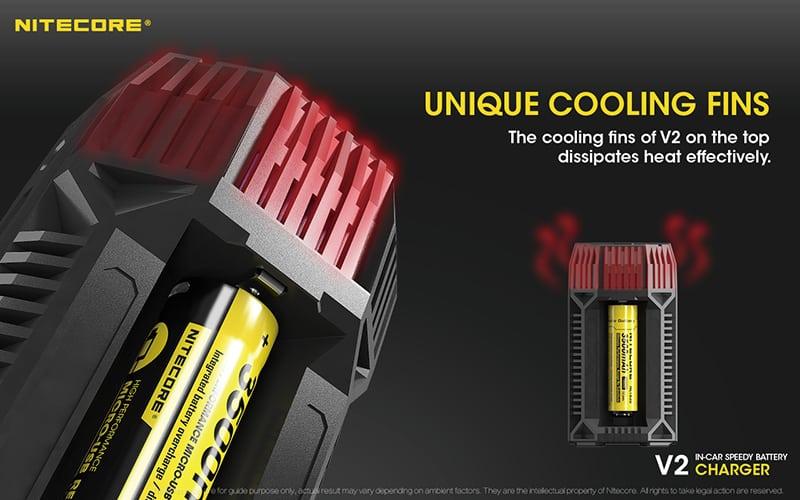 Nitecore v2 зарядно устройство