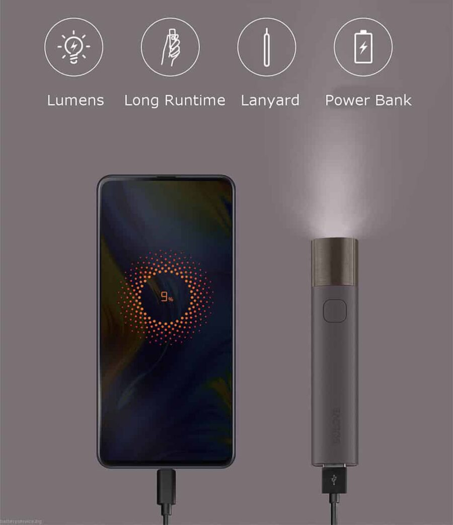 Фенер xiaomi solove x3 power bank