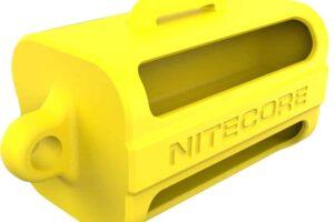 Силиконов държач nitecore nbm40 за 4 батерии 18650