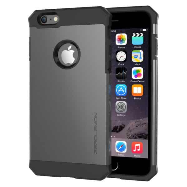 Калъф zerolemon за iphone 6 метално сив 4.7 inch