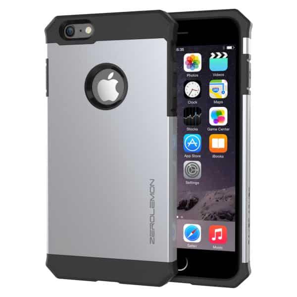 Калъф zerolemon за iphone 6 сребърен 4.7 inch
