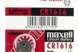 Maxell CR1616