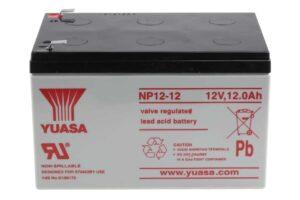Оловен акумулатор NP12-12 12V 12Ah F2