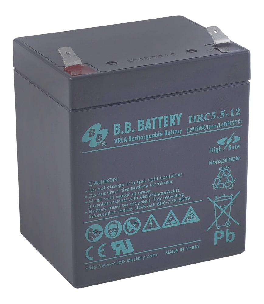 Оловен акумулатор HRC5.5-12 5Ah F2
